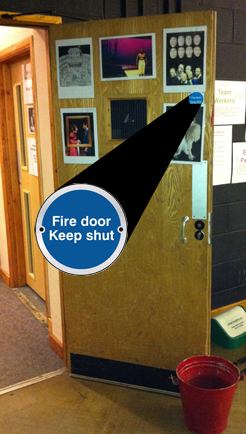 school-fire-door