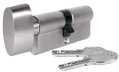 ISEO master keyed cylinder with thumb-turn
