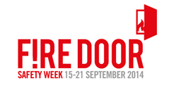 Fire door safety week logo