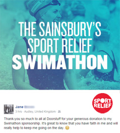 Sport Relief Swimathon