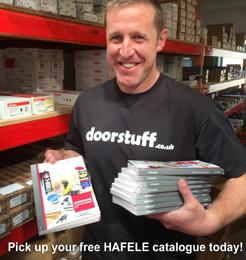 Pick up your free HAFELE catalogue